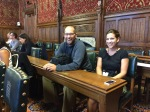 Ted and Sam at the House of Commons fracking meeting