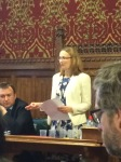 MP Cat Smith convened the House of Commons hearing on fracking