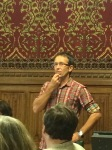 Damien Short at the Commons meeting on fracking
